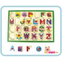 Wooden Toy - Puzzle ABC Alphabet