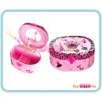 Trendy Kids - Musical Jewelry Box with Figurine Crown