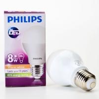 Philips E27 LED Bulb (Warm White) (8W)