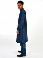 Jutawan Kurta Baju Sahaja (Warna Biru Kelabu)