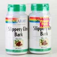 Solaray Slippery Elm Bark (2 x 100 capsules)