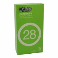 Care 28 Comfort Fit Condom - 12's