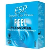 ESP (Enjoyable Safe Pleasure) Condom - Feel Pleasures 3pcs