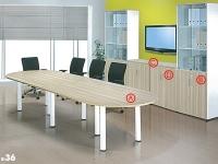 Office System B-Series Rectangular Conference Table Set (BI 36)