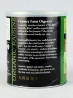 Organic Raisins Green Seedless (Vegan) (300g)