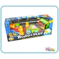 Educational Toy - Build & Play Formula 1 & Locomotive