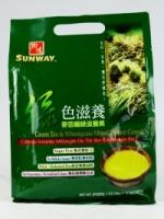 Sunway Green Tea & Wheatgrass Mixed Instant Cereal (Vegan) (28g x 12 Sachets)