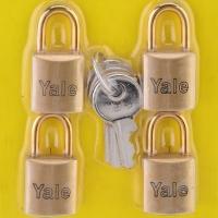 Yale V633-4KA Luggage Lock (4 pcs)