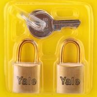 Yale V633-2KA Luggage Locks (2 pcs)