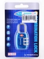 ST Guchi 30mm 3-Digit Luggage Locks (TSA1898)