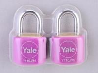 Yale Y110J-15 KAX2P Padlock (2 pcs)