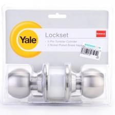 Yale 5127US32D Cylinder Lock Set