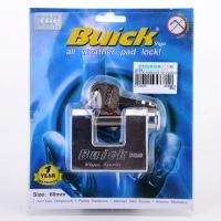 Buick 60mm S/S D Padlock