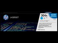 HP CC531A 304A Cyan Genuine Original Printer Toner Cartridge