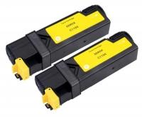 TonerGreen DocuPrint C1190FS (CT201263) Yellow Compatible Printer Toner Cartridge Value Pack 2X
