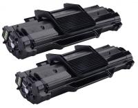 TonerGreen Phaser 3200MFP (CWAA0747) Black Compatible Printer Toner Cartridge Value Pack 2X