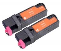 TonerGreen DocuPrint C1110 (CT201116) Magenta Compatible Printer Toner Cartridge Value Pack 2X
