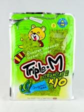 Triple M Crispy Roasted Seaweed (Original) (Vegetarian) (10 x 6g)