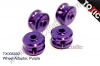 Wheel Adaptor, Purple  #TX006002