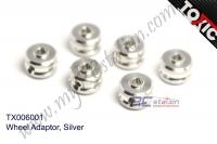 Wheel Adaptor, Silver  #TX006001