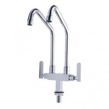 Aimer Italy Brass Twins Spout Pillar Sink Tap (AMFC 250)