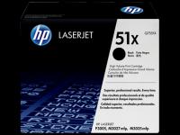 HP Q7551X 51X Black Genuine Original Printer Toner Cartridge