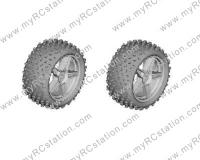 HSP 1/10 Buggy Rear Wheel w/ Tire#06026