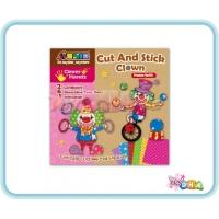 School Time Arts & Crafts - Cut and Stick Clown