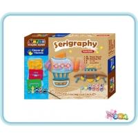 School Time Arts & Crafts - Serigraphy Spaceship