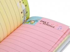 Note Book Daily Schedule (Uranaikko Together) (Blue) (Small)