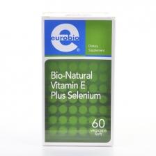 Eurobio Bio-Natural Vitamin E Plus Selenium (60 Vegicaps Soft)