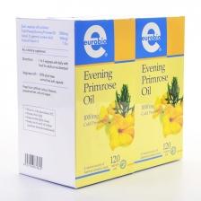 Value-Pack: Eurobio Everning Primrose Oil (2 Bottle x 120 Vegicaps Soft)