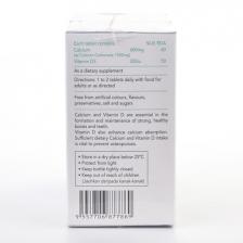 Value-Pack: Eurobio BioCal D 600 (2 Bottles x 60 Tablets)