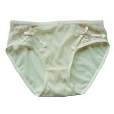 Lace Peach Heart Ribbon/T Pants