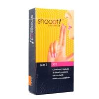 SHOOOT 3 in 1 Condom / Kondom 12's