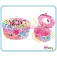 Trendy Kids - Musical Jewelry Box with Figurine Heart