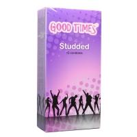 Good Times Studded condom - 12's