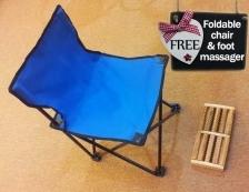 Sauna Wap Rumah (Diarungi & Mudah Alih) (Free Foldable Chair + Foot Massager)