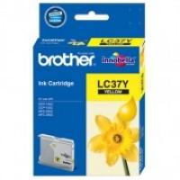 Brother LC-37Y Yellow Genuine Original Printer Ink Cartridge