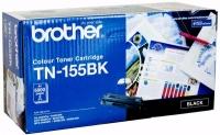 Brother TN-155BK High Yield Black 5K Print Yield Genuine Original Printer Toner Cartridge