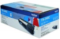 Brother TN-340C Cyan Genuine Original Printer Toner Cartridge