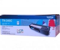 Brother TN-345C High Yield Cyan 3.5K Print Yield Genuine Original Printer Toner Cartridge