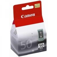 Canon PG-50BK (0616B003AA) Black Fine Cartridge (22ml) Genuine Original Printer Ink Cartridge