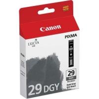 Canon PGI-29DGY (4870B003AA) Dark Gray Ink Tank (36ml) Genuine Original Printer Ink Cartridge