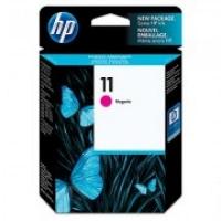 HP C4837A 11 Magenta Genuine Original Printer Ink Cartridge