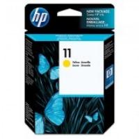 HP C4838A 11 Yellow Genuine Original Printer Ink Cartridge