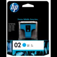 HP C8771WA 02 Cyan Genuine Original Printer Ink Cartridge