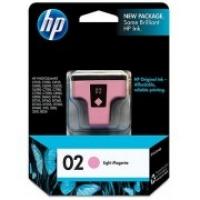 HP C8775WA 02 Light Magenta Genuine Original Printer Ink Cartridge