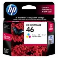 HP CZ638AA 46 Tri-Colour Genuine Original Printer Ink Cartridge