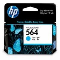 HP CB318WA 564 Cyan Genuine Original Printer Ink Cartridge